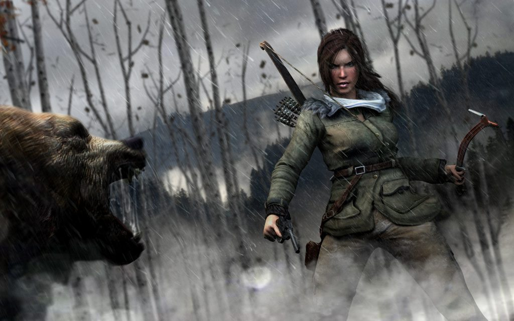 Rise Of The Tomb Raider HD Widescreen Background