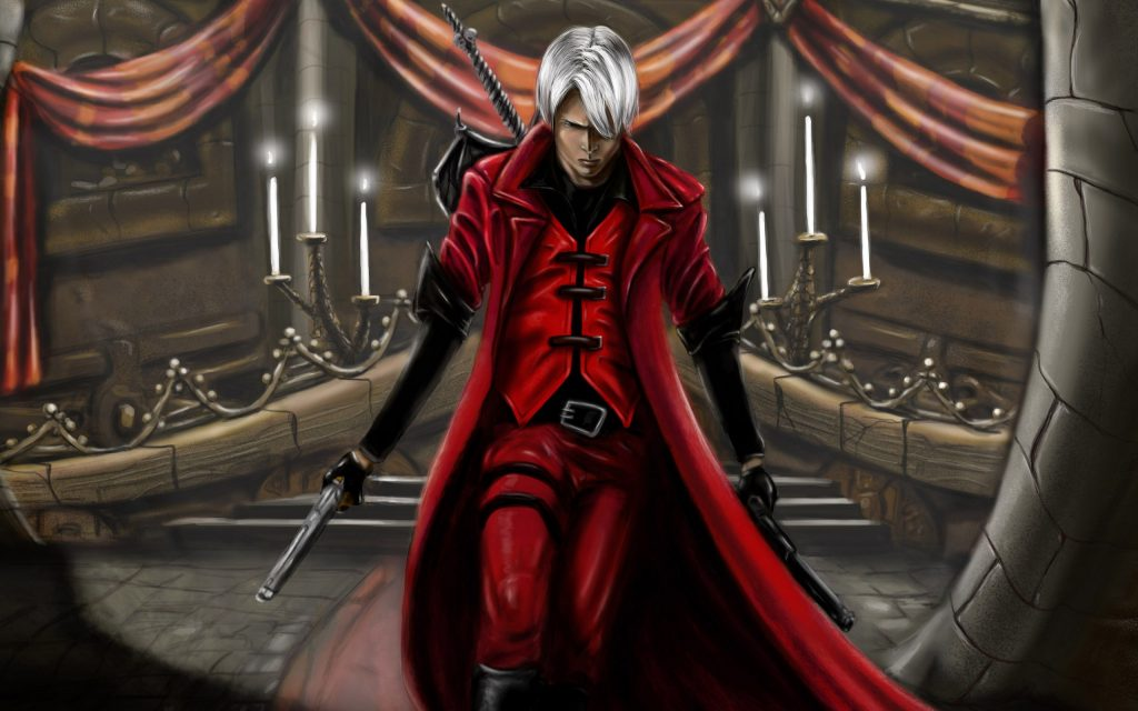 Devil May Cry Widescreen Background