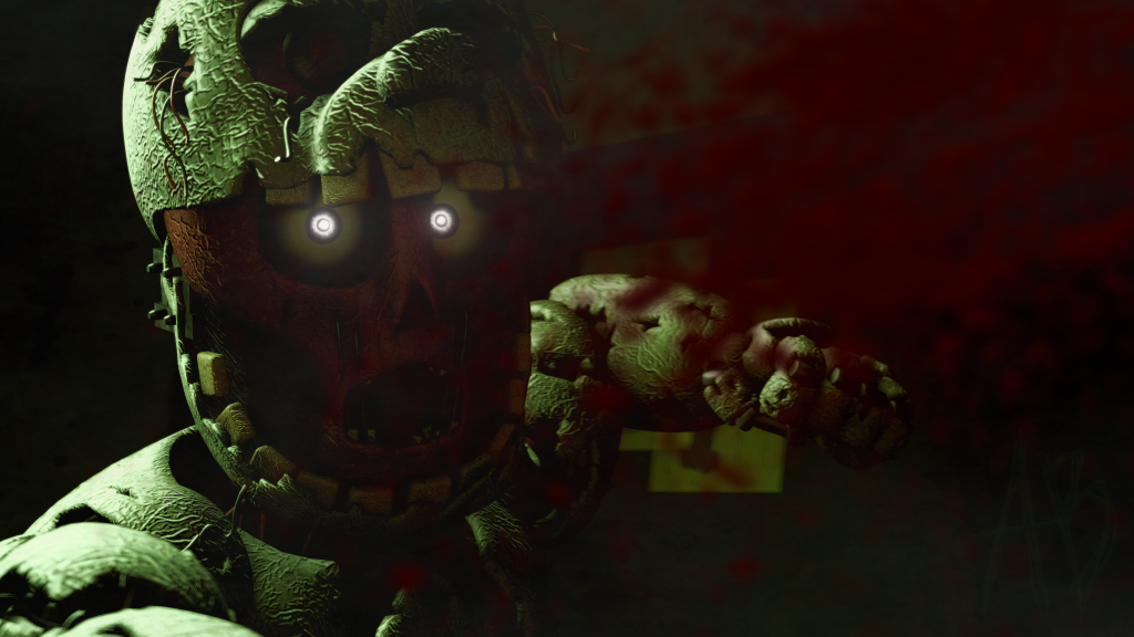Five Nights at Freddy's 3 HD 4K UHD Wallpaper