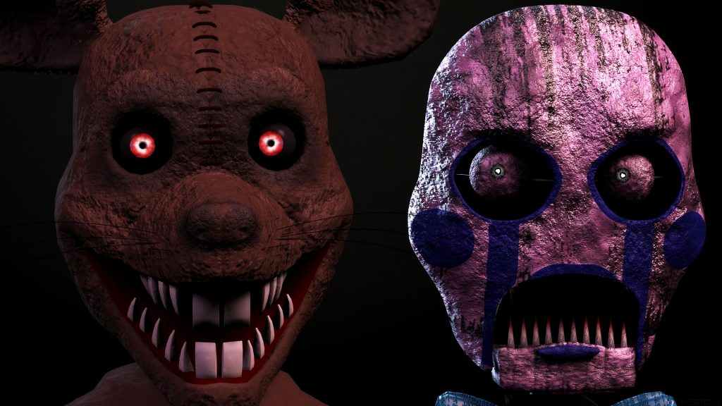 Five Nights at Freddy's 3 HD Full HD Wallpaper