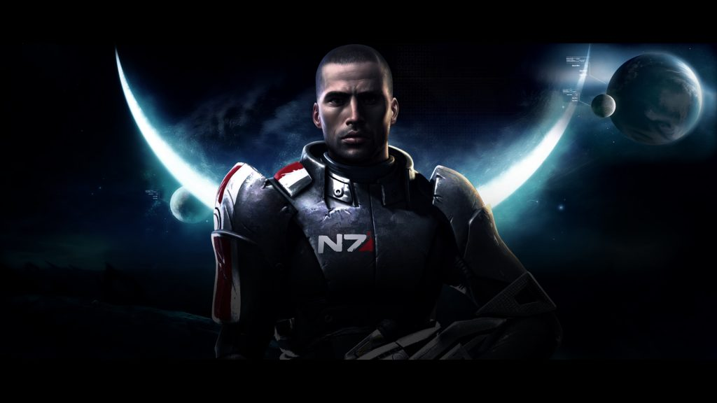 Mass Effect 2 Full HD Background