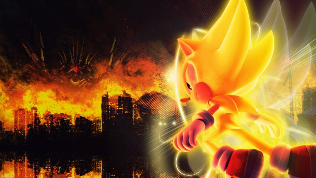 Sonic The Hedgehog HD Full HD Background