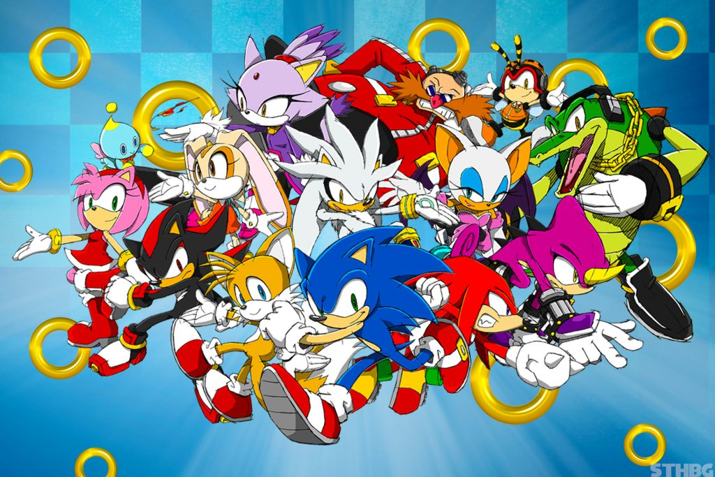 Sonic The Hedgehog HD Background
