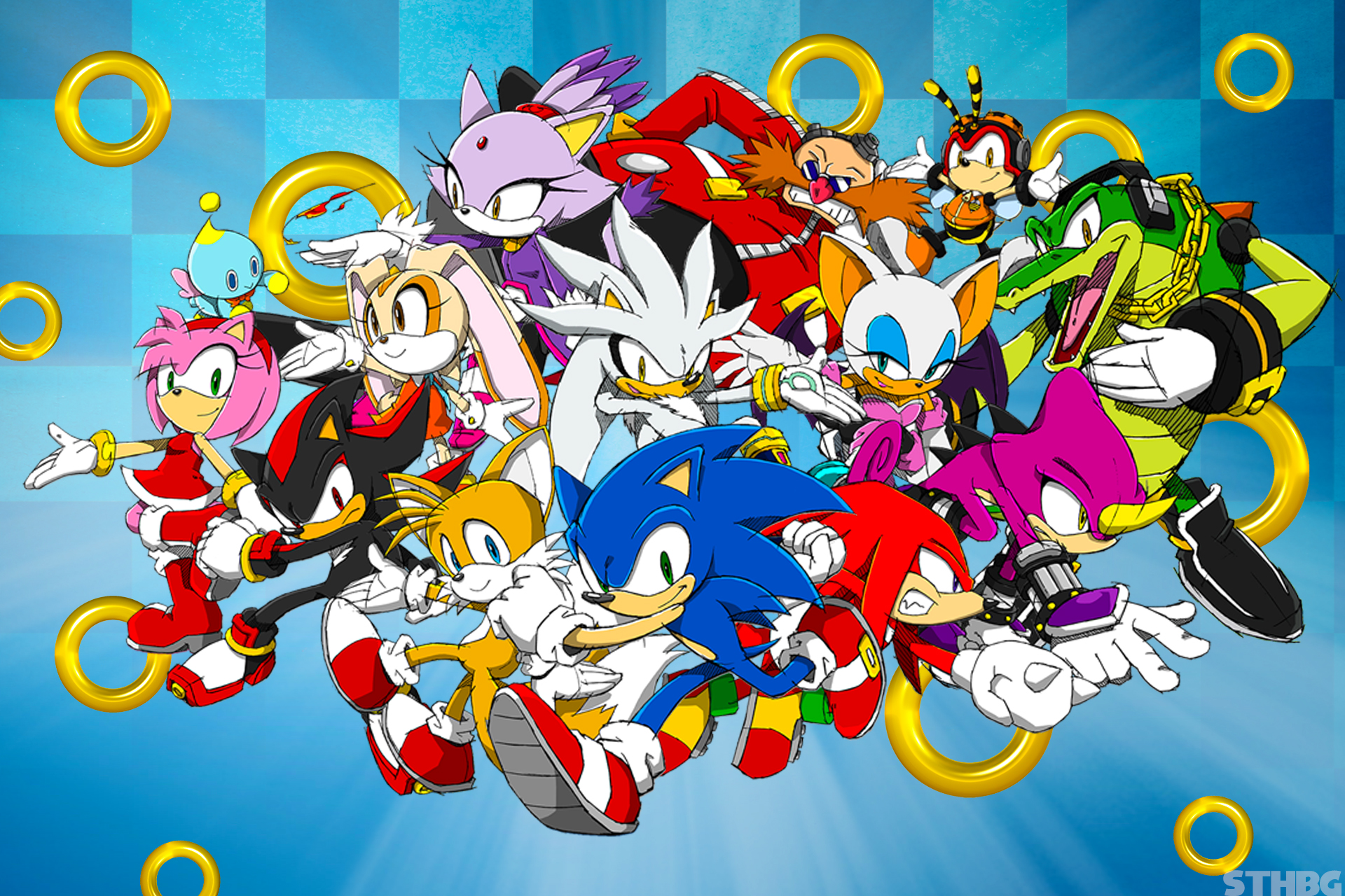 Sonic The Hedgehog Hd Backgrounds Pictures Images