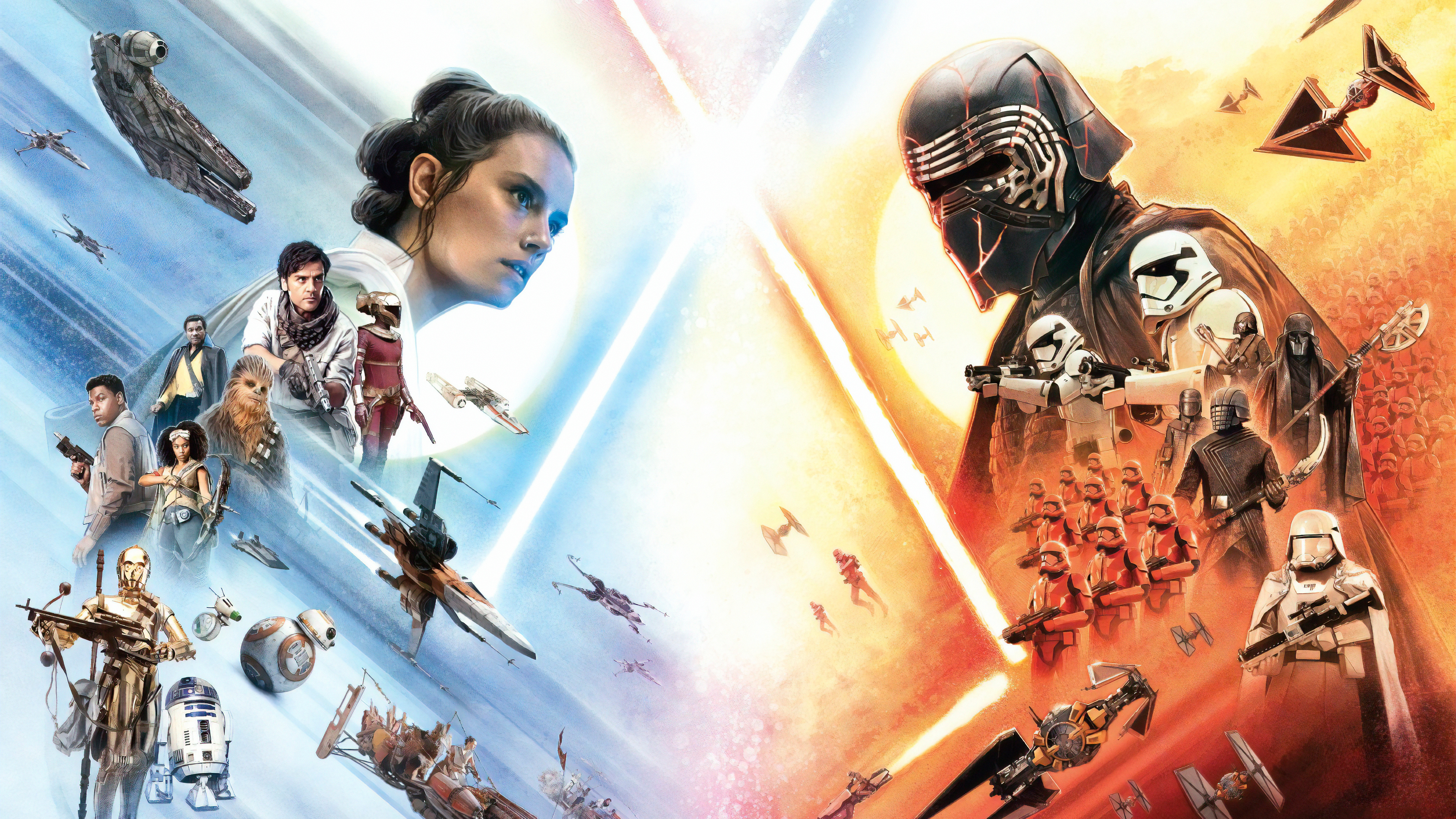 Star Wars The Rise Of Skywalker Wallpapers Pictures Images