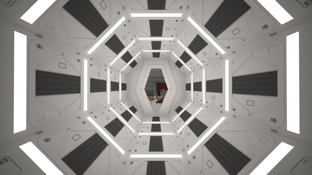 2001: A Space Odyssey Quad HD Wallpaper