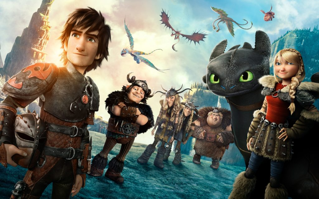 How To Train Your Dragon 2 HD Widescreen Background