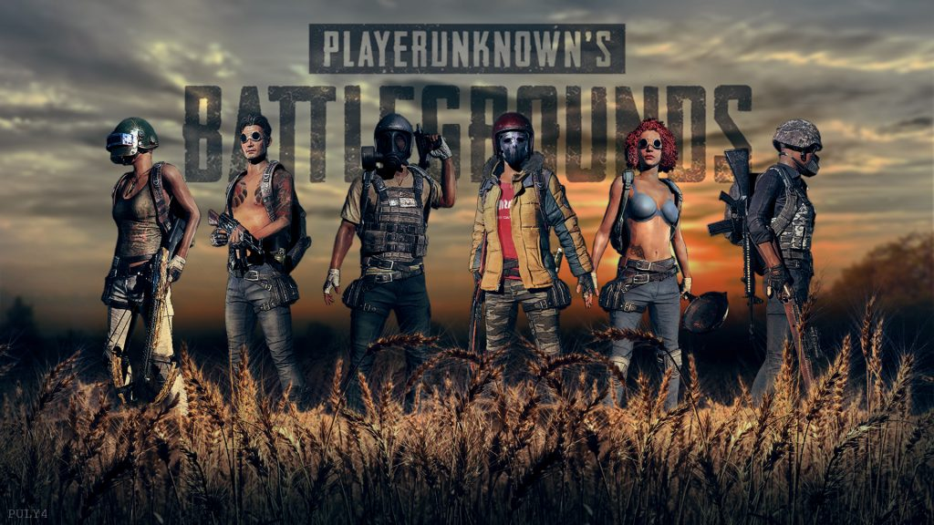 Playerunknown's Battlegrounds HD Full HD Background