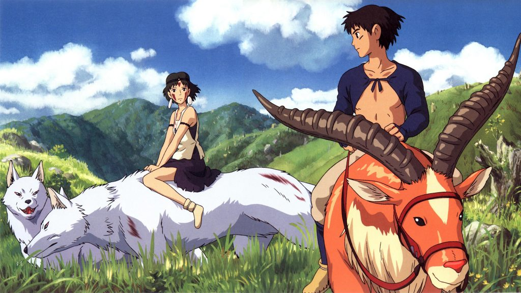 Princess Mononoke Dual Monitor Background