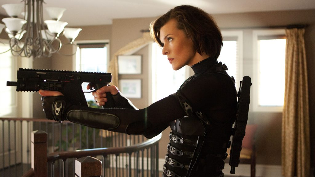 Resident Evil: Retribution Quad HD Wallpaper