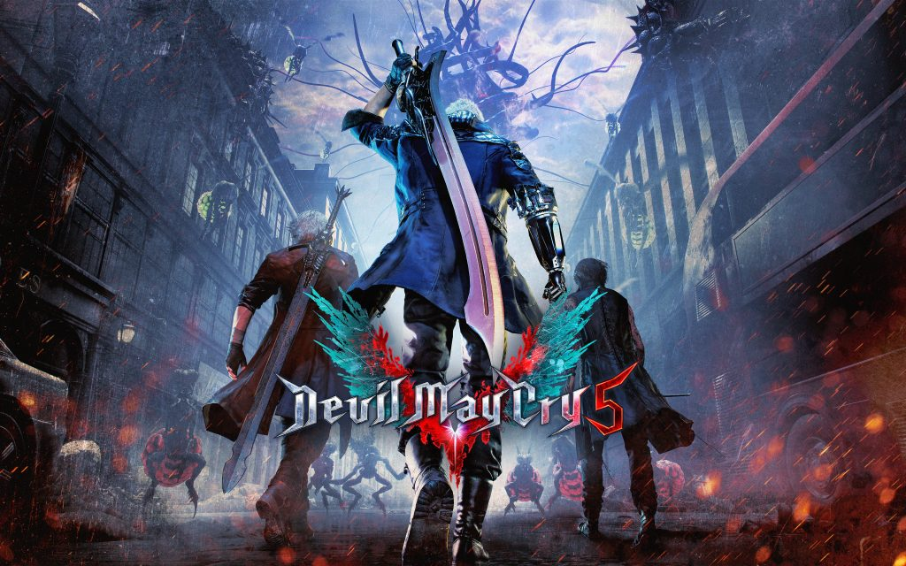 Devil May Cry 5 Widescreen Wallpaper