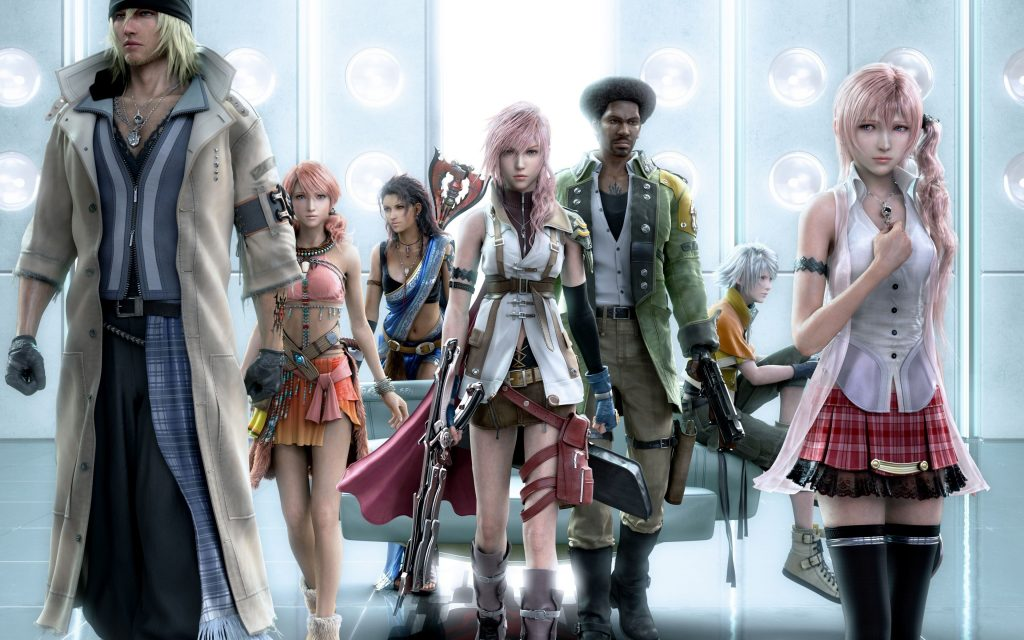 Final Fantasy XIII Widescreen Background