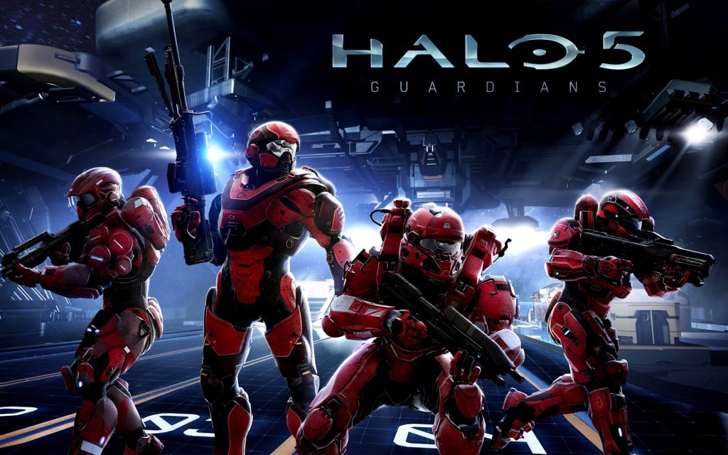 Halo 5: Guardians HD Widescreen Wallpaper