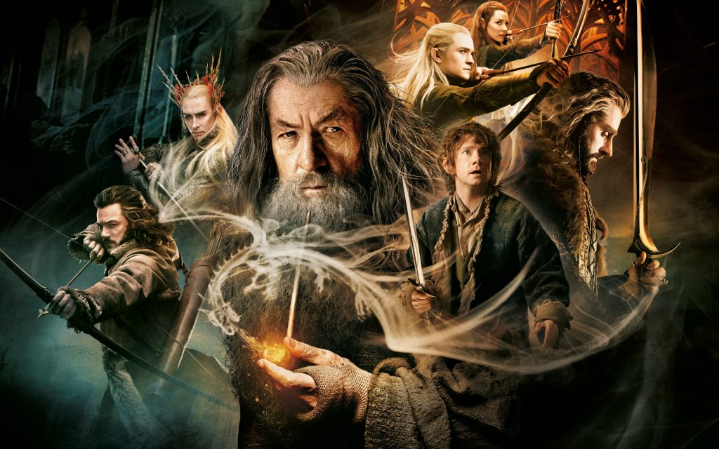 The Hobbit: The Desolation Of Smaug Widescreen Background