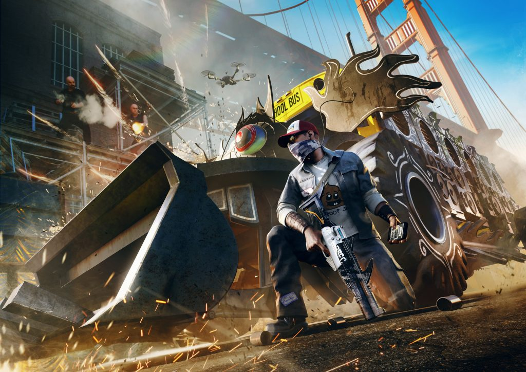 Watch Dogs 2 HD Wallpaper