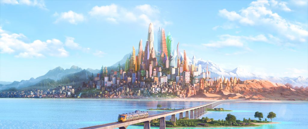 Zootopia Background