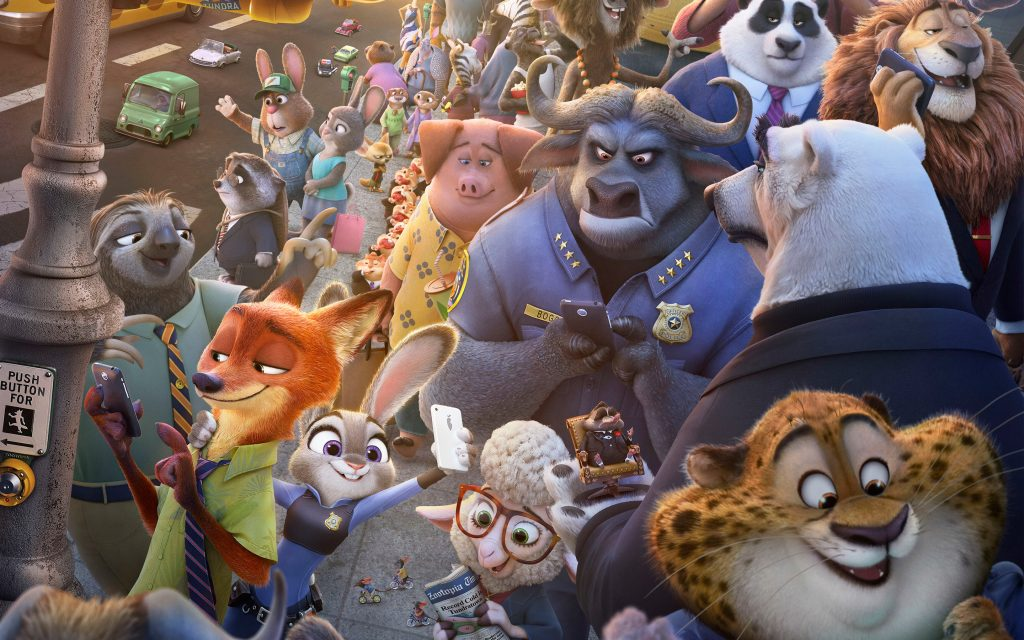 Zootopia Widescreen Background