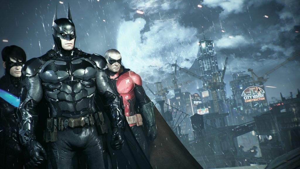 Batman: Arkham Knight Quad HD Wallpaper