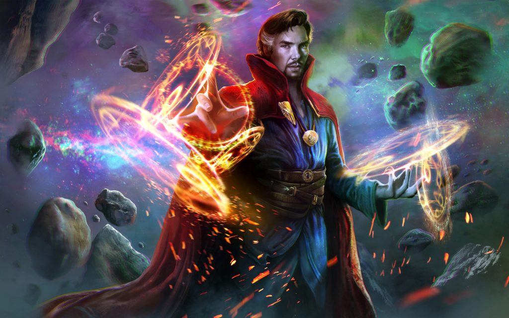 Doctor Strange Widescreen Background