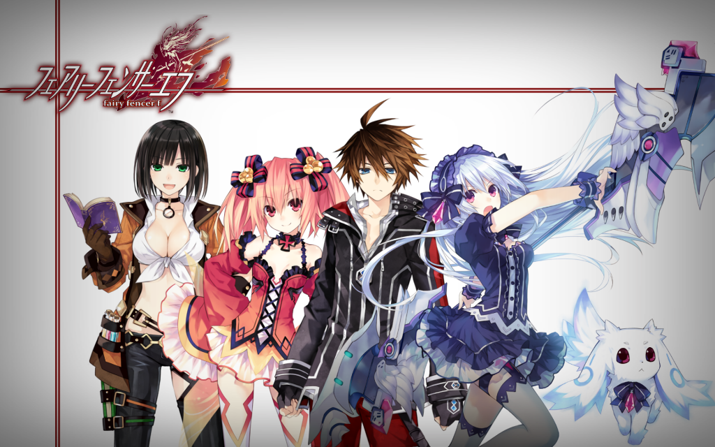 Fairy Fencer F Widescreen Wallpaper