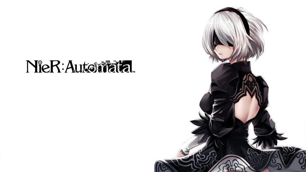 NieR: Automata Full HD Background