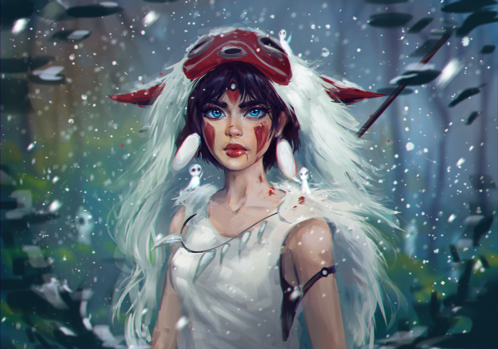 Princess Mononoke HD Wallpaper