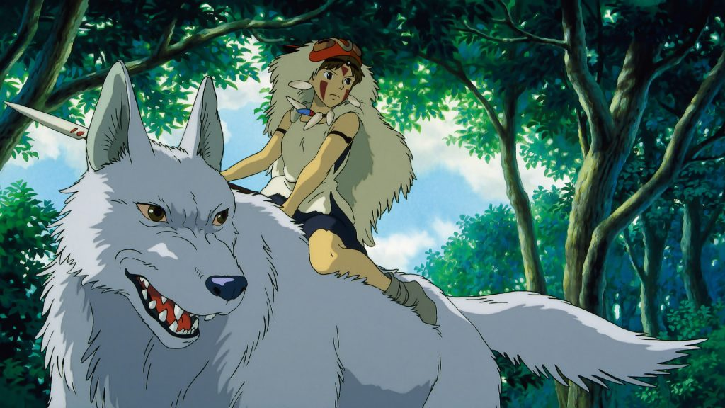 Princess Mononoke HD Full HD Wallpaper
