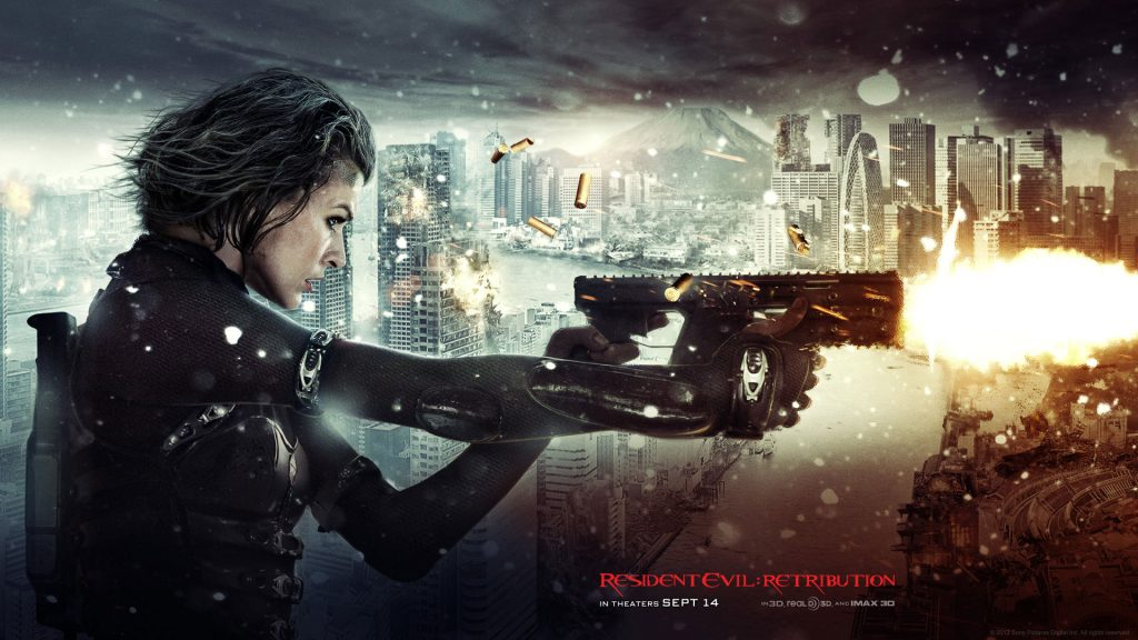 Resident Evil: Retribution Full HD Background