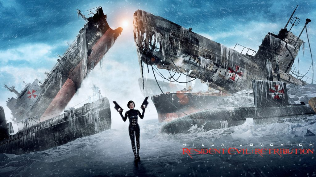 Resident Evil: Retribution Quad HD Background