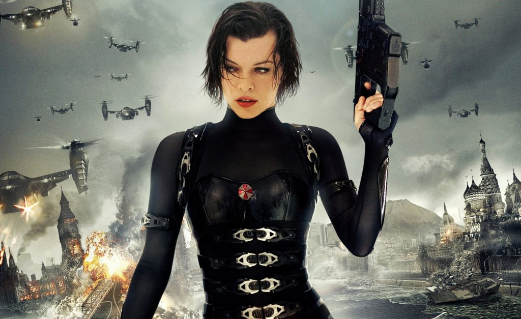 Resident Evil: Retribution Background