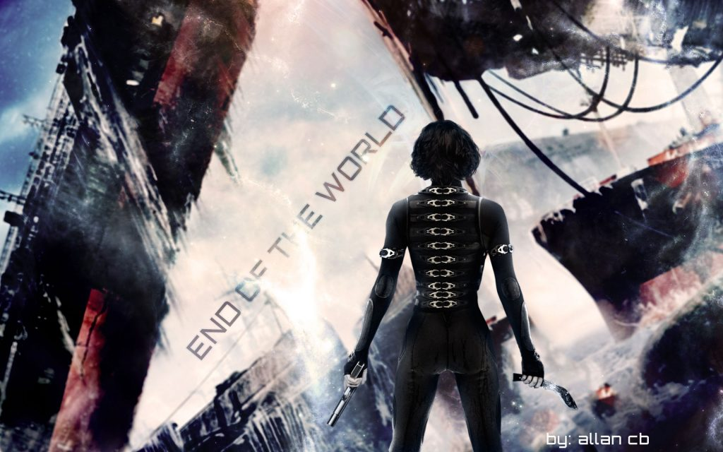 Resident Evil: Retribution Widescreen Background