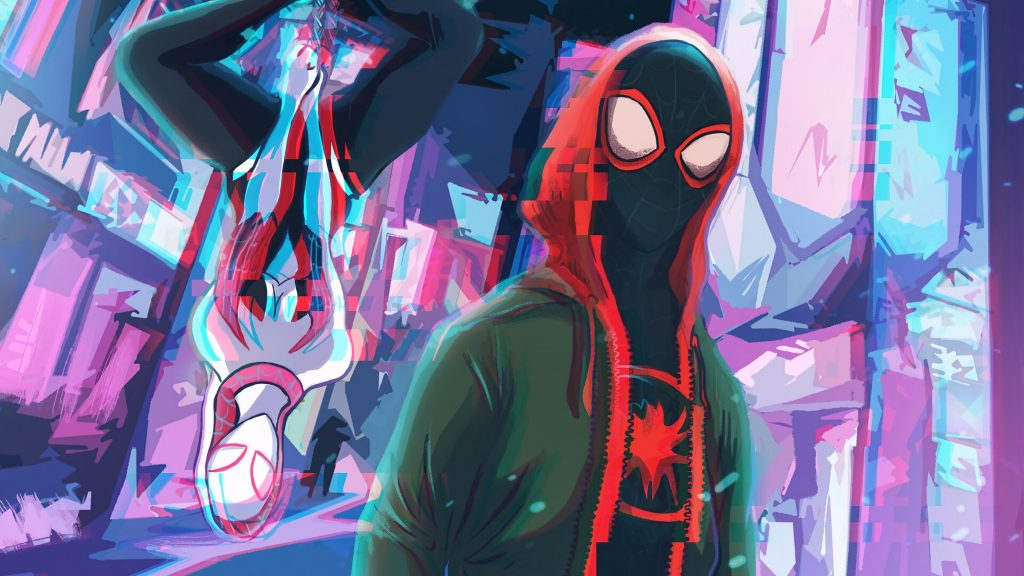 Spider-Man: Into The Spider-Verse HD Quad HD Wallpaper