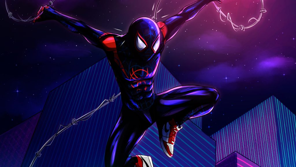 Spider-Man: Into The Spider-Verse HD Full HD Wallpaper
