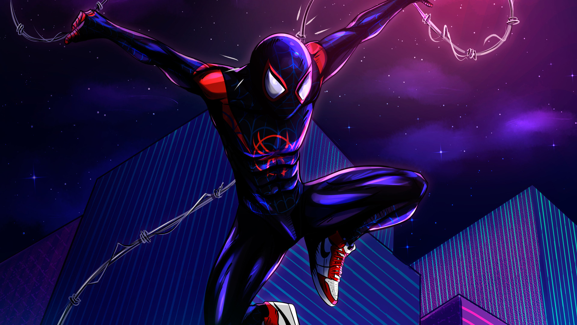 spiderman into the spiderverse hd wallpapers pictures