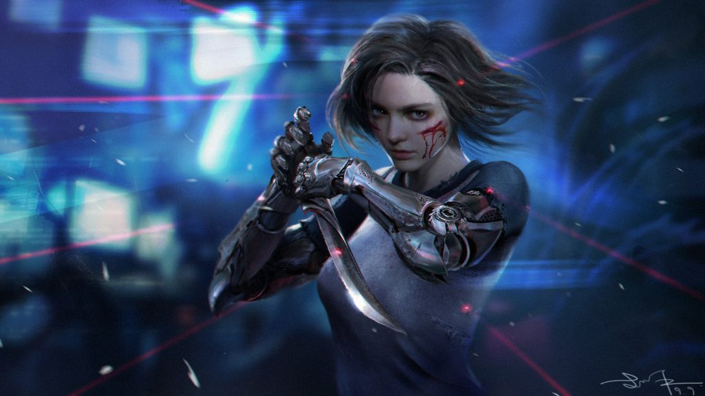 Alita: Battle Angel Full HD Wallpaper