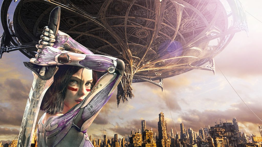 Alita: Battle Angel Quad HD Wallpaper