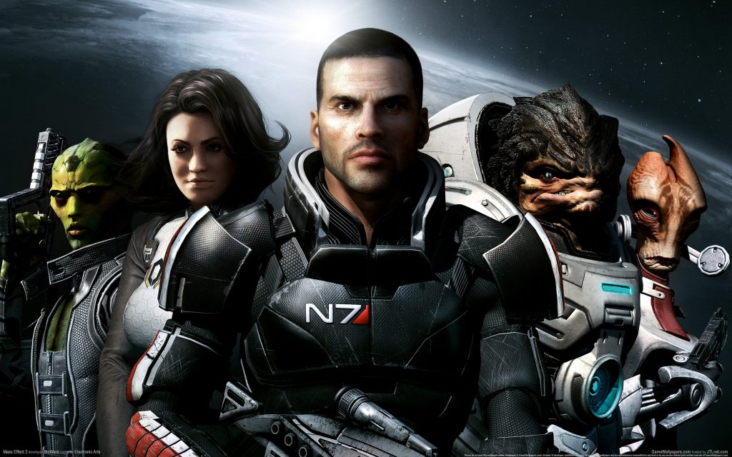 Mass Effect 2 HD Widescreen Wallpaper