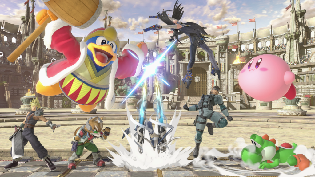 Super Smash Bros. Ultimate Full HD Background