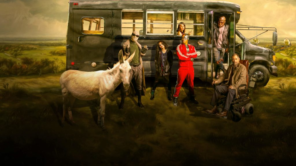 Doom Patrol Quad HD Wallpaper