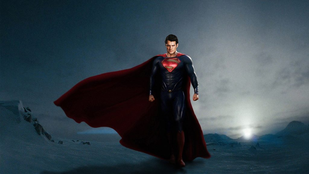Man Of Steel Full HD Background