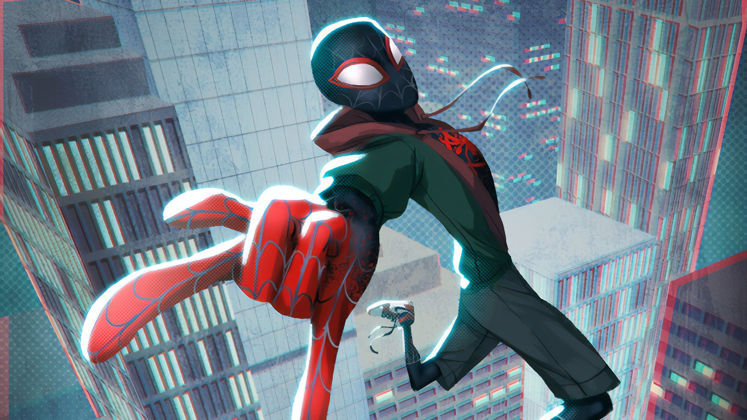 Spider Man Into The Spider Verse Hd Backgrounds Pictures Images