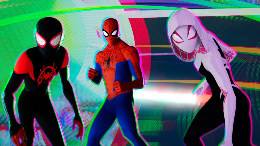 Spider-Man: Into The Spider-Verse HD Quad HD Background