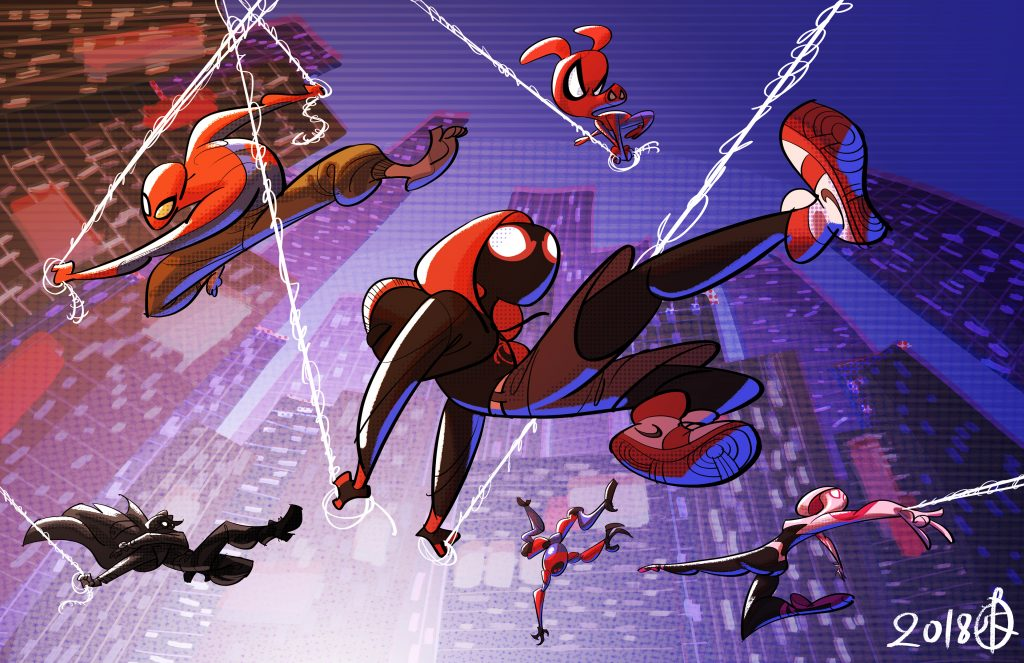 Spider-Man: Into The Spider-Verse HD Background
