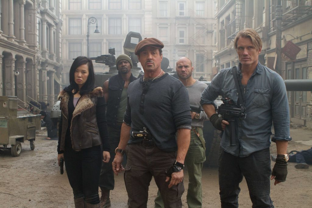 The Expendables 2 HD Wallpaper