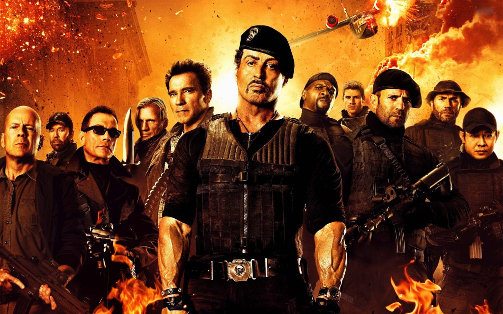 The Expendables 2 HD Widescreen Wallpaper
