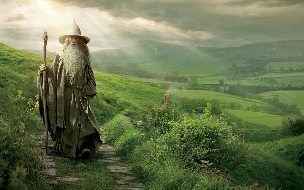 The Hobbit: An Unexpected Journey Widescreen Background
