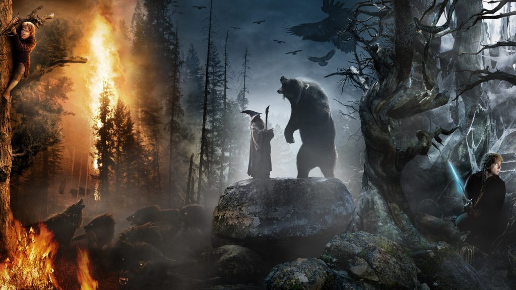 The Hobbit: An Unexpected Journey Full HD Background