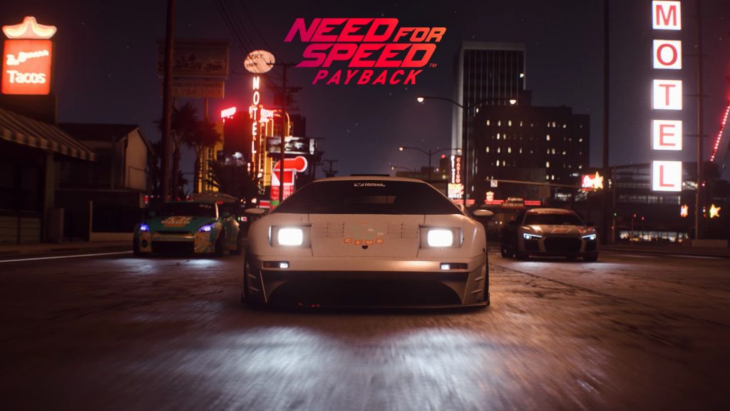 Need For Speed Payback Quad HD Background