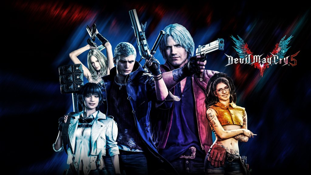 Devil May Cry 5 Quad HD Background