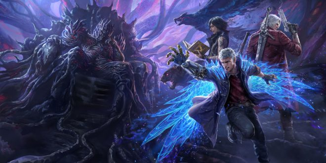 Devil May Cry 5 Backgrounds
